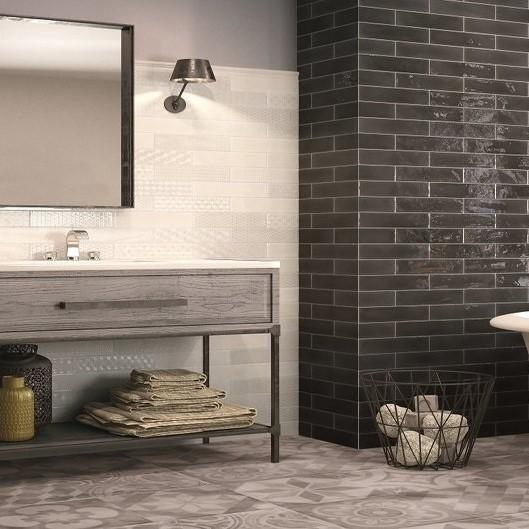 OpalBlackWhiteBathroom O'Connor Carroll Bathrooms & Tiles Dublin