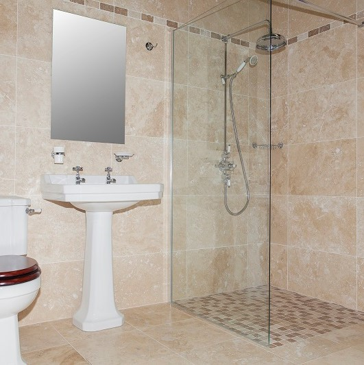 Travertine O'Connor Carroll Bathrooms & Tiles Dublin