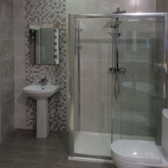 Domino Gris O' Connor Carroll Bathrooms Tiles Stairlifts