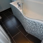 bathroom tips Mosaic panel