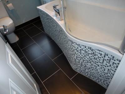 bathroom tips Mosaic panel