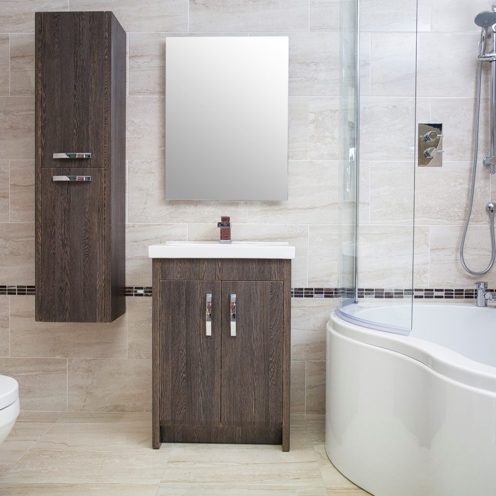 Bathroom Lifestyle Image O'Connor Carroll Tiles & Bathrooms Dublin stairlift demonstration