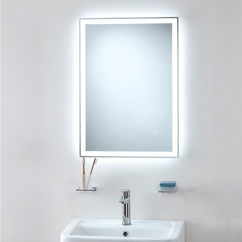 Orion Bathroom Mirror. O\'Connor Carroll Tiles & Bathrooms Dublin.