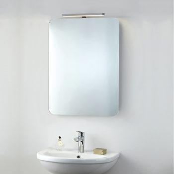 Taurus Bathroom Mirror Light O'Connor Carroll Bathrooms & Tiles Dublin